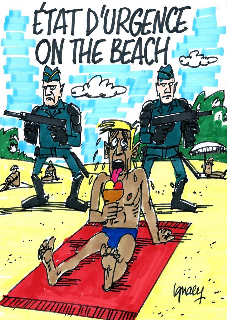 Ignace - État d'urgence on the beach
