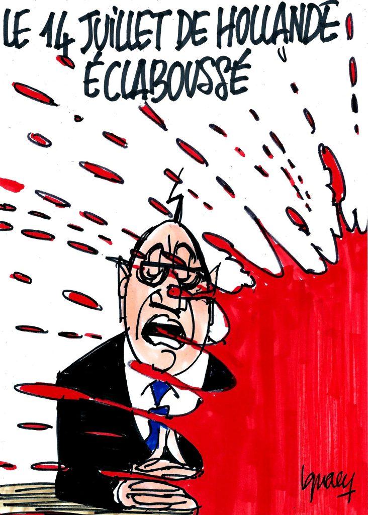 Ignace - Le 14 juillet de Hollande éclaboussé