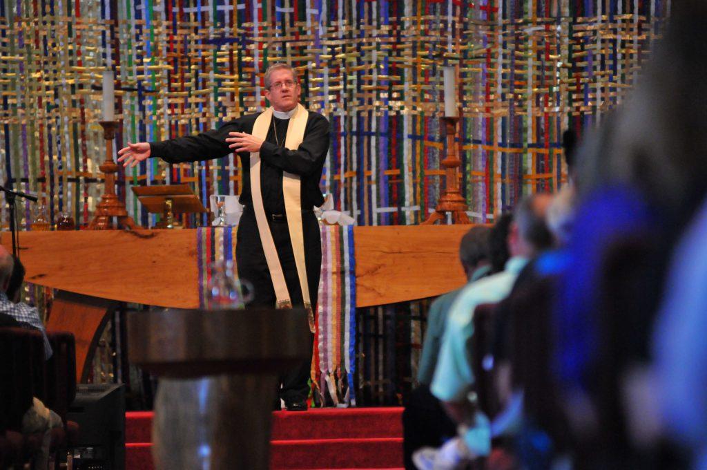 Mike-Preaching