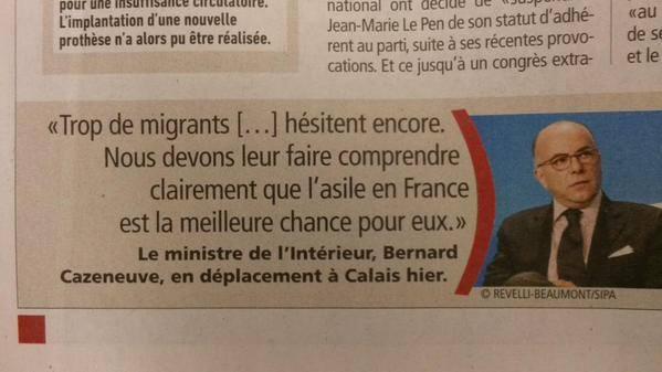 cazeneuve-migrants-france