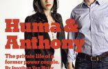 Dans l'ombre d'Hillary Clinton, Huma Abedin (liée aux Frères Musulmans) et son mari Anthony Weiner, sioniste