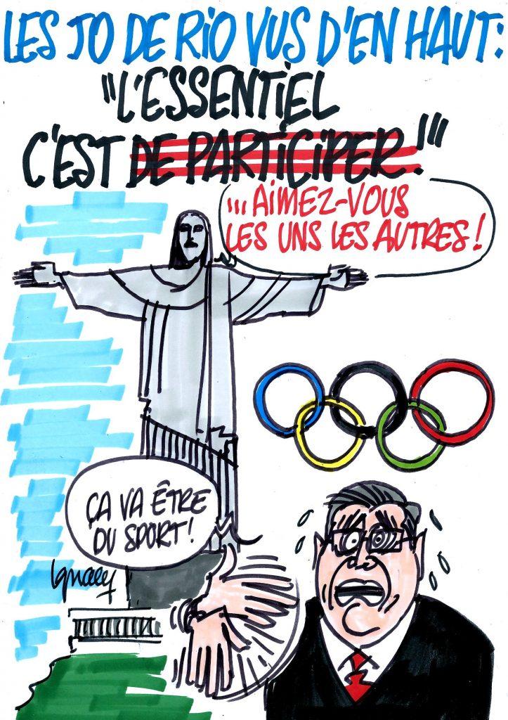 Ignace - Jeux olympiques à Rio