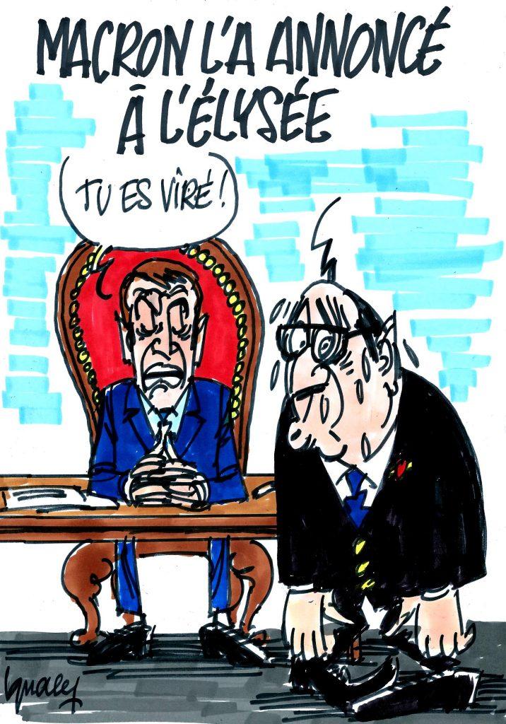 Ignace - Macron l'a annoncé à l'Élysée