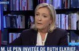 Marine Le Pen s'exprime sur «les racines chrétiennes de la France» et la plupart des autres sujets