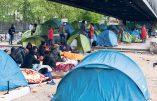 Un millier d'immigrés illégaux de Calais campe déjà à Paris depuis le démantèlement de la Jungle