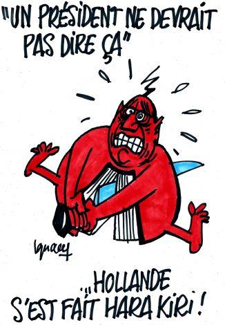 Ignace - Hollande, ses confidences et les conséquences