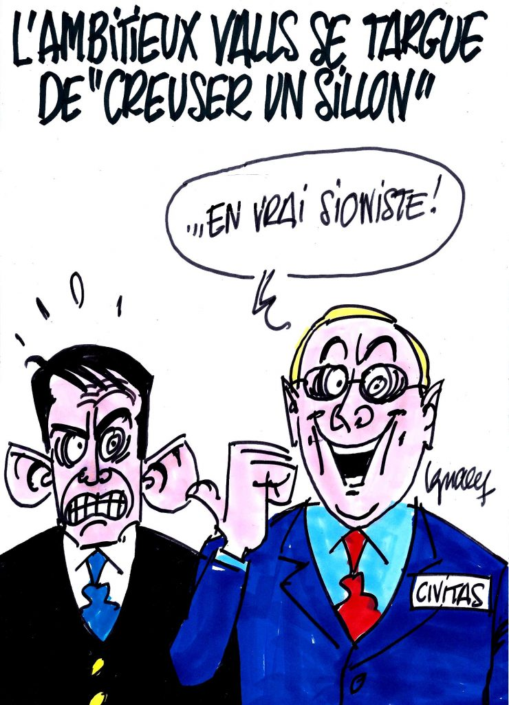 "Ignace - Valls ""creuse un sillon"""