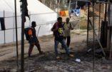 Migrants : la révolte dans le camp de «réfugiés» de Lesbos