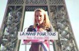 Le discours ovationné de Marion Maréchal-Le Pen à la Manif pour Tous