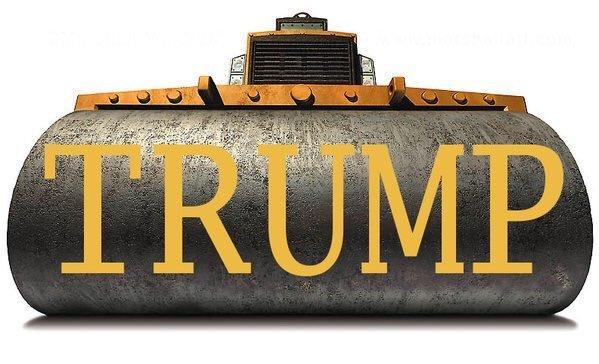 trump-bulldozer