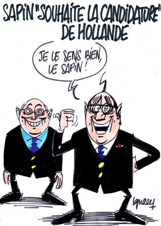 "Ignace - Sapin ""souhaite la candidature"" de Hollande"