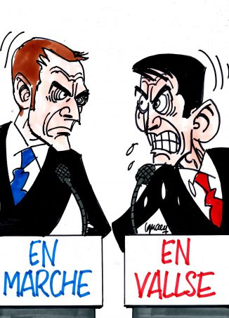 Ignace - Valls vs Macron