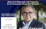 Jean Sevillia le mardi 6 décembre à 20h30 à Toulon