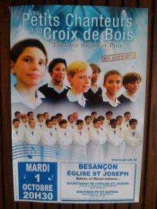 affiche du concert