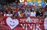 La Grande Espagne se réveille contre l'avortement – Nos meilleurs vœux à ceux qui devaient mourir !