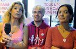 """Frigide Barjot, reconvertie en garante de la laïcité, pourfend les """"pro-vie"""""""
