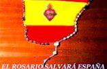 Rosaire pour l'Espagne