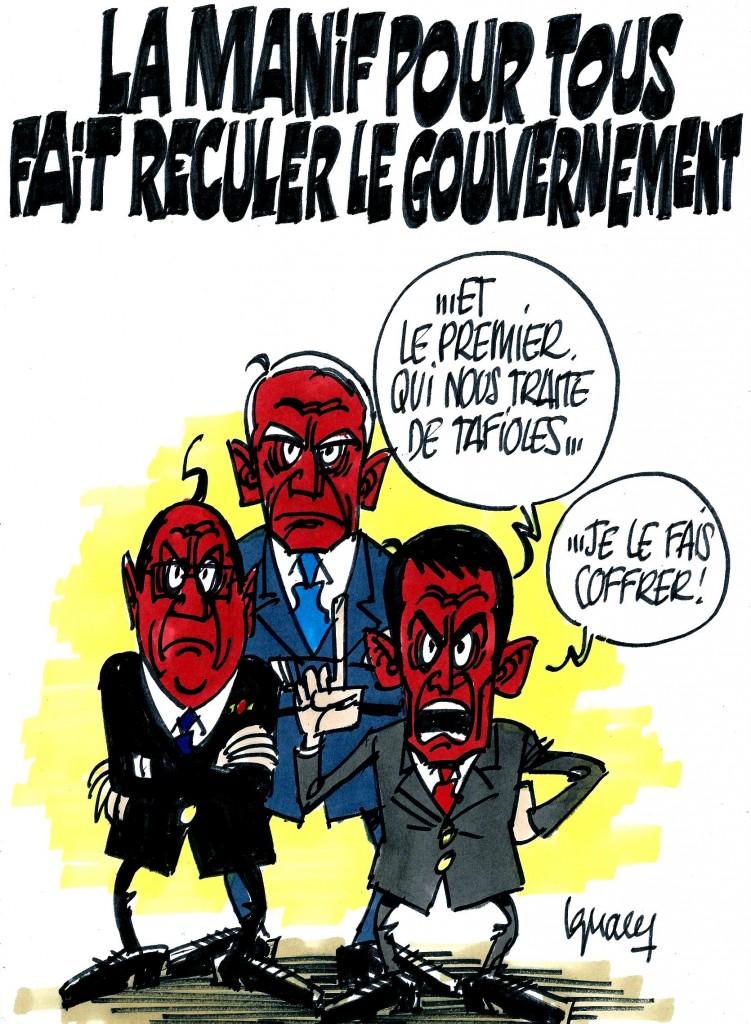 Ignace - Le gouvernement recule (pas)