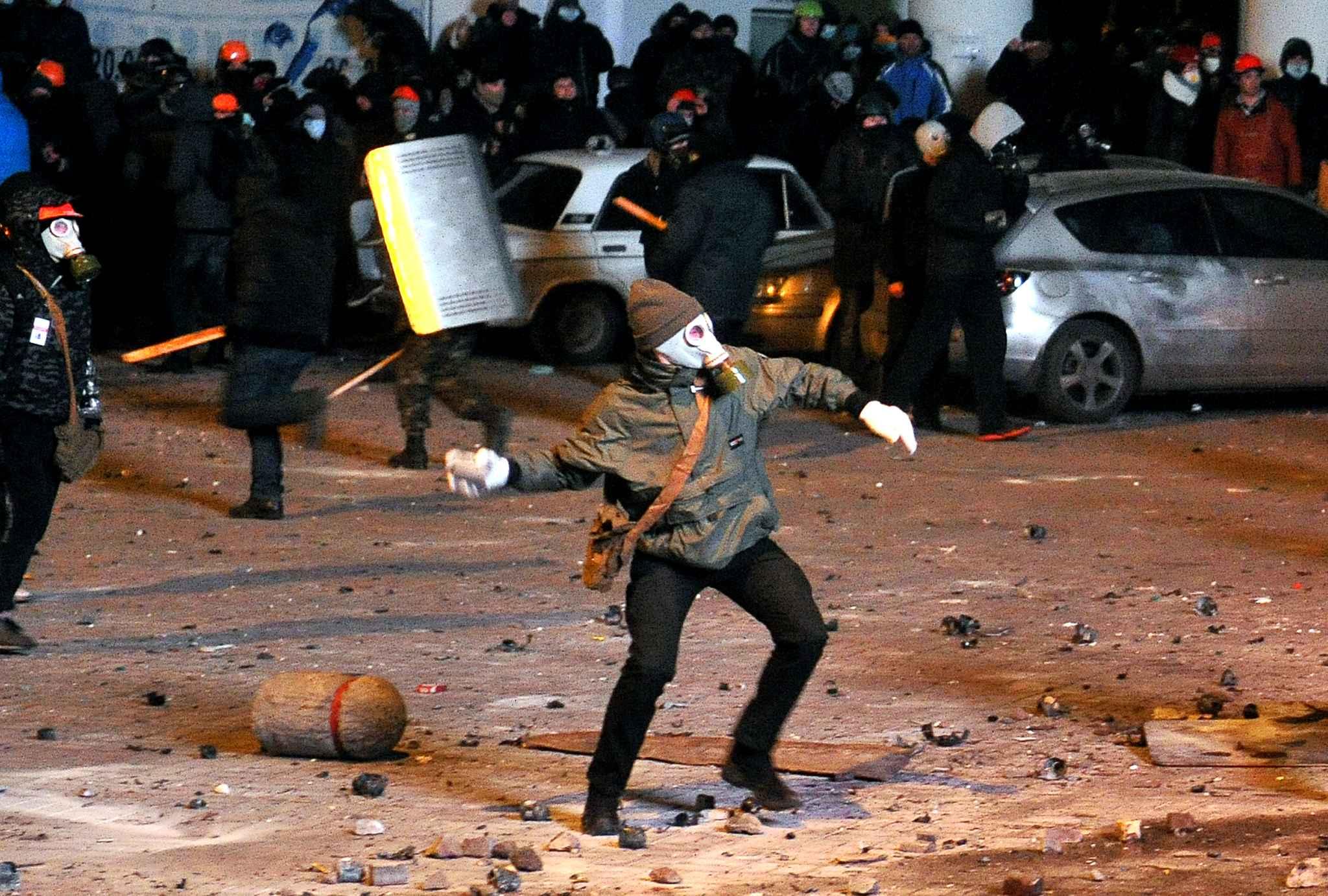 ukraine -manifestant