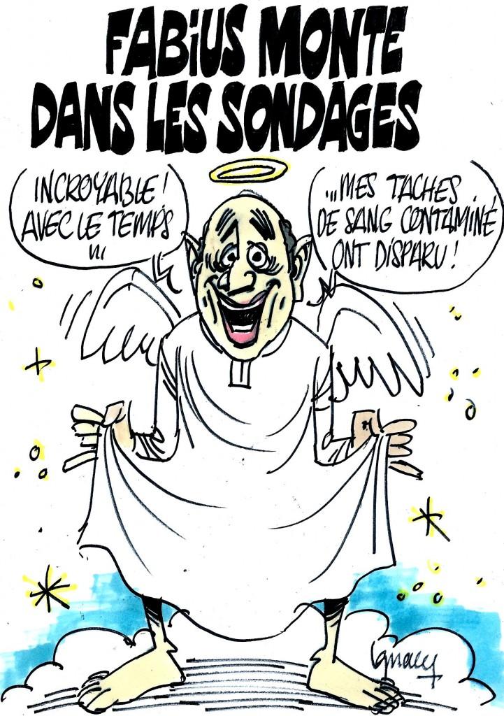 Ignace - Fabius monte dans les sondages