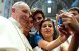 L'immense popularité du Pape