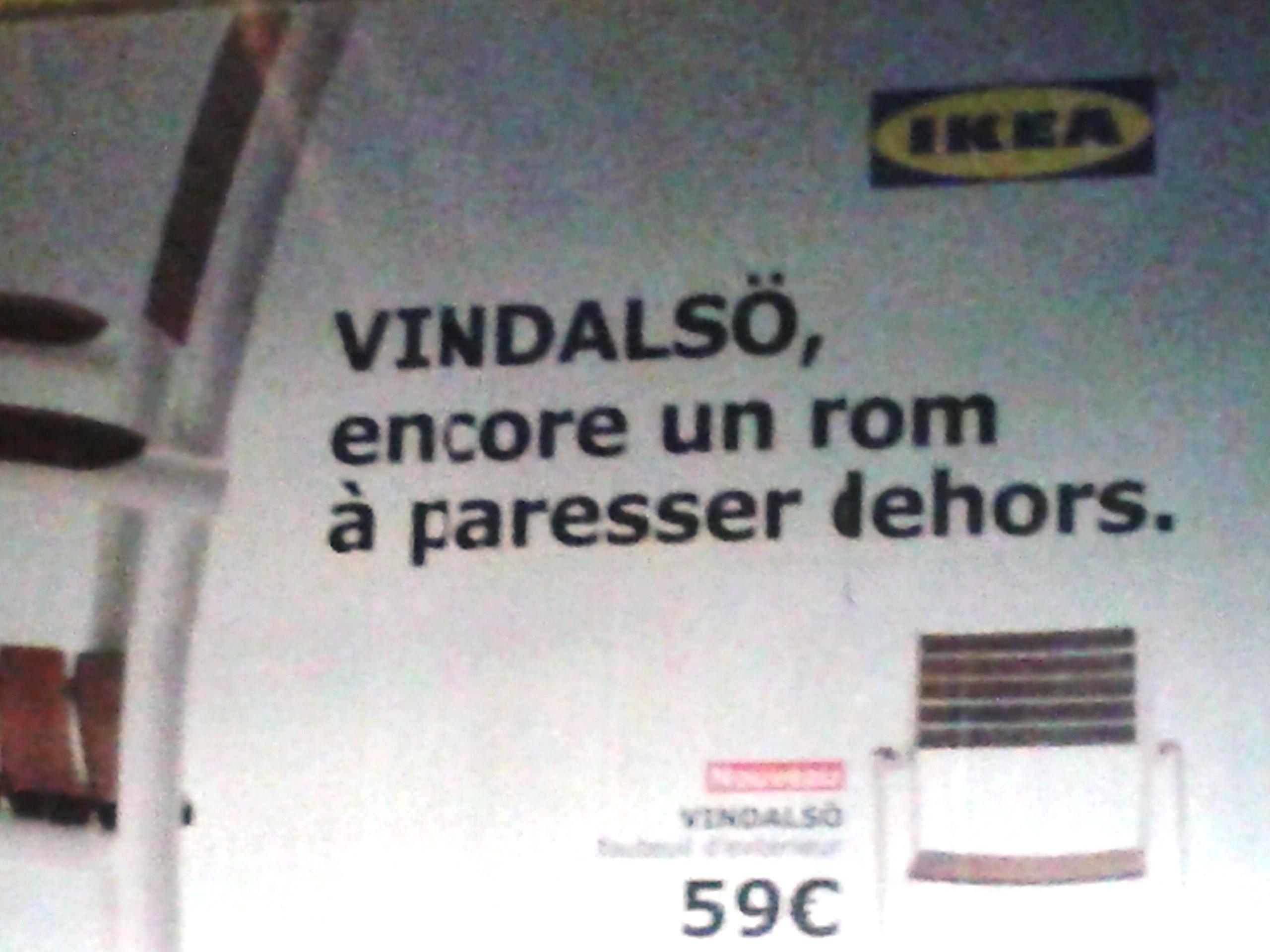 Ikea Drole De Pub Medias Presse Info