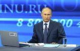 Vladimir Poutine dialogue avec ses concitoyens