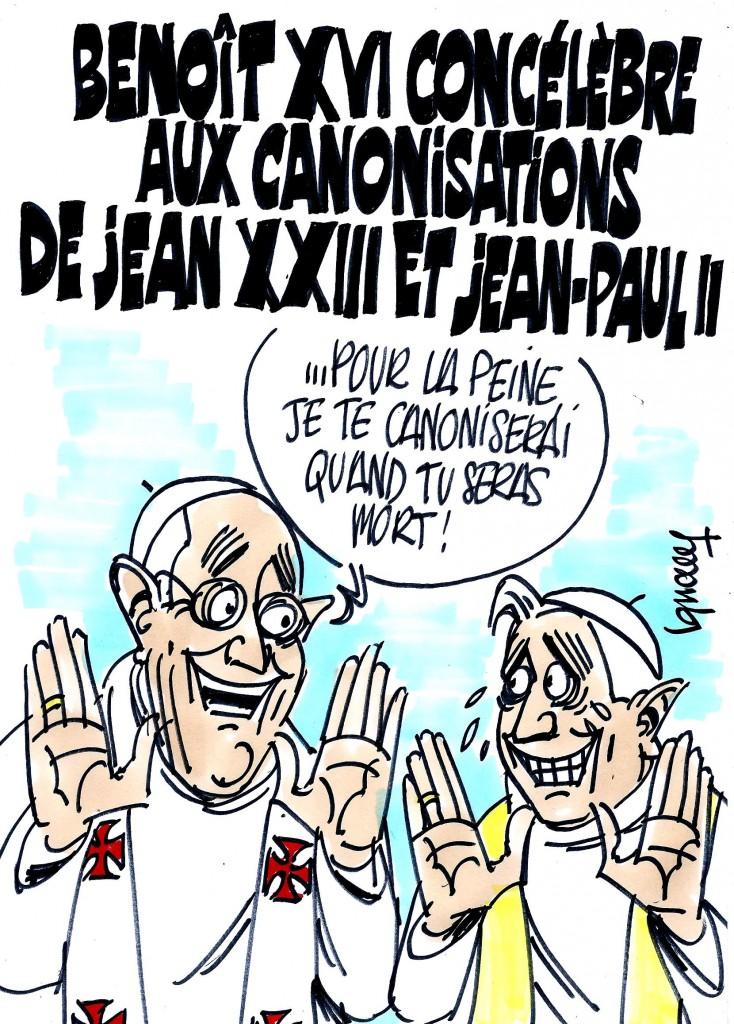 Ignace - Benoît XVI aux canonisations