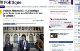 """Le """"mariage"""" homosexuel a fortement contribué à la déroute du PS"""