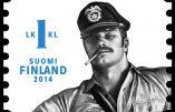 Sadomasochisme homosexuel pour illustrer des timbres finlandais !