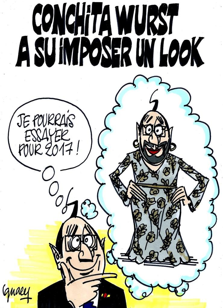 Ignace - Le look de Conchita Wurst