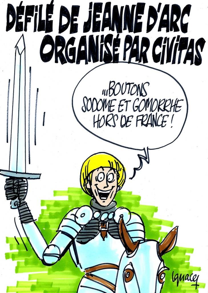 Ignace - Défilé de Jeanne d'Arc