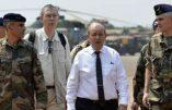 Jean-Yves Le Drian reconnait les conditions de vie rudes des militaires français en Centrafrique