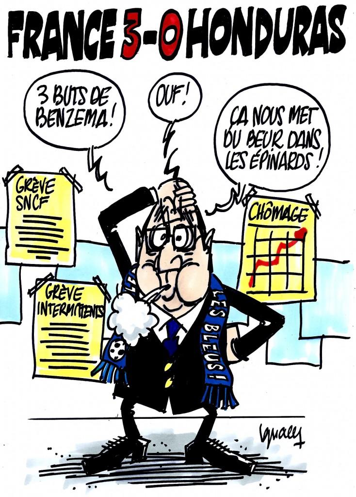 Ignace - France 3-0 Honduras