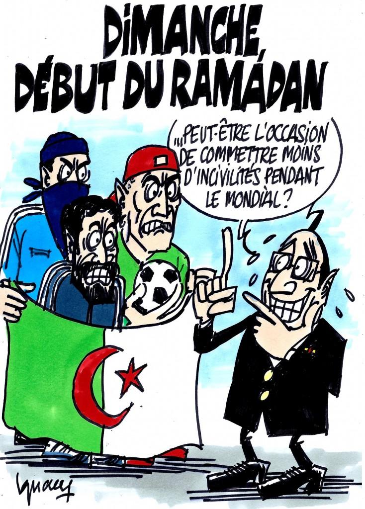 Ignace - Dimanche, début du ramadan