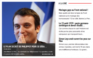 Mariages gays au Front National