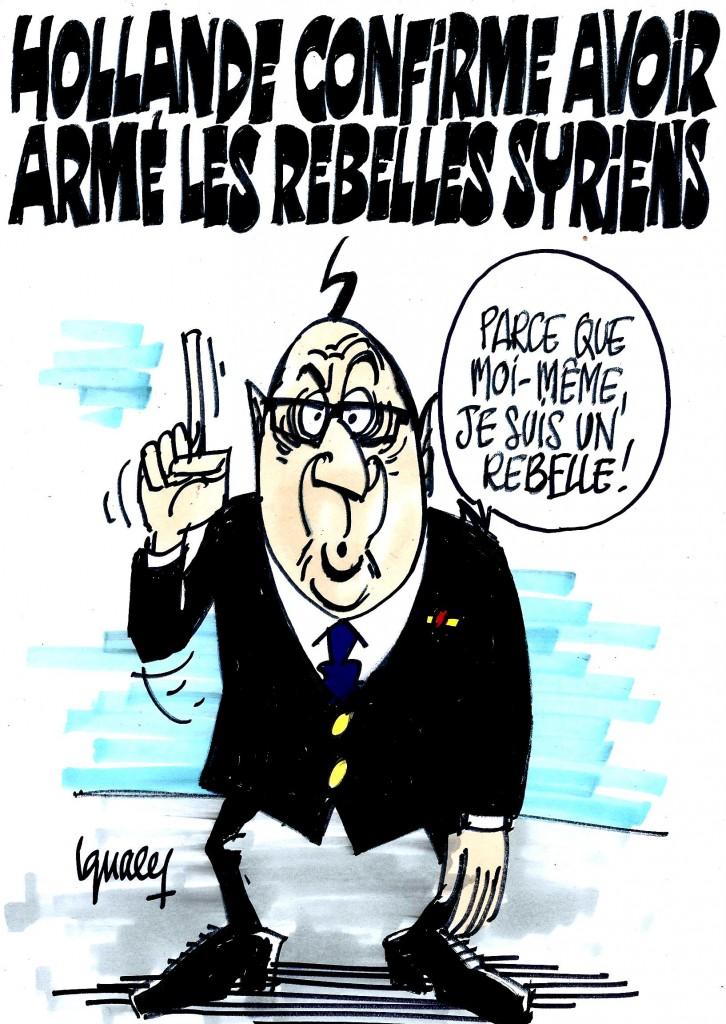 Ignace - Il livre des armes aux rebelles