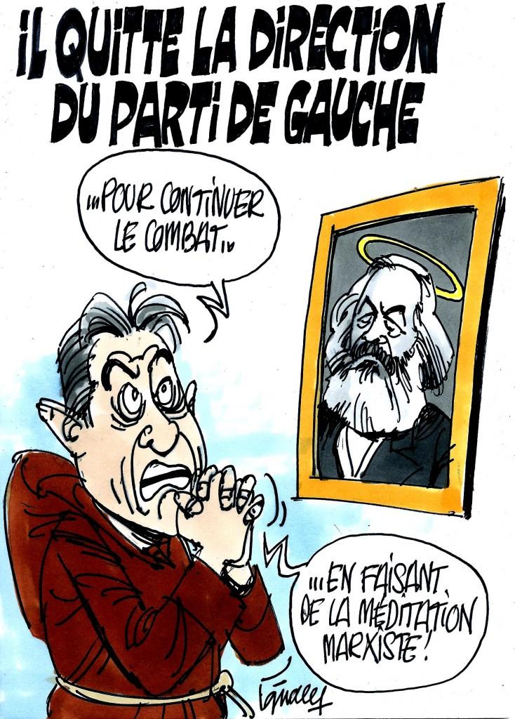 Ignace - Mélenchon quitte la direction du PG