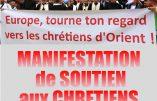 Le 21 septembre, mobilisation nationale en soutien aux chrétiens d'Orient