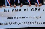 12 septembre 2019 à Lyon – Rassemblement contre la PMA