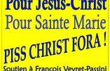 La mobilisation corse contre le Piss Christ ne faiblit pas