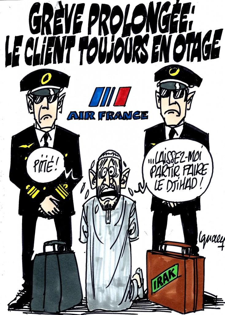 Ignace - Grève à Air France