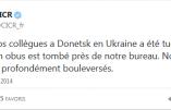 Un employé suisse de la Croix Rouge tué à Donetsk où les attaques de la junte se poursuivent