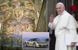 La Chapelle Sixtine louée au Porsche Travel Club !