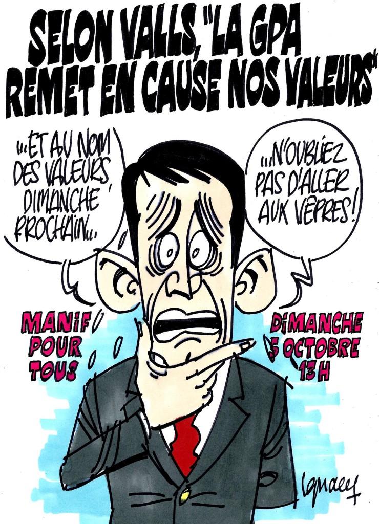 Ignace - Valls contre la GPA
