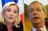 Parlement européen : reprise de la compétition entre Marine Le Pen et Nigel Farage