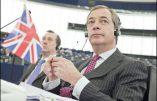 Le parlement européen annonce la dissolution du groupe de Nigel Farage