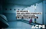 La prostitution d'enfants, cela se passe aussi en France