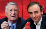 Vidéo : débat entre Eric Zemmour et Alain Duhamel