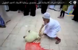 Des enfants musulmans formés à l'égorgement du mouton, aux égorgements de l'État Islamique (Vidéo)